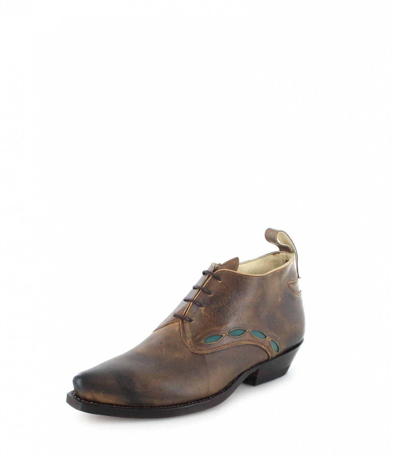Mulet by Tony mora Stivali zapato Marronee Western Scarpe