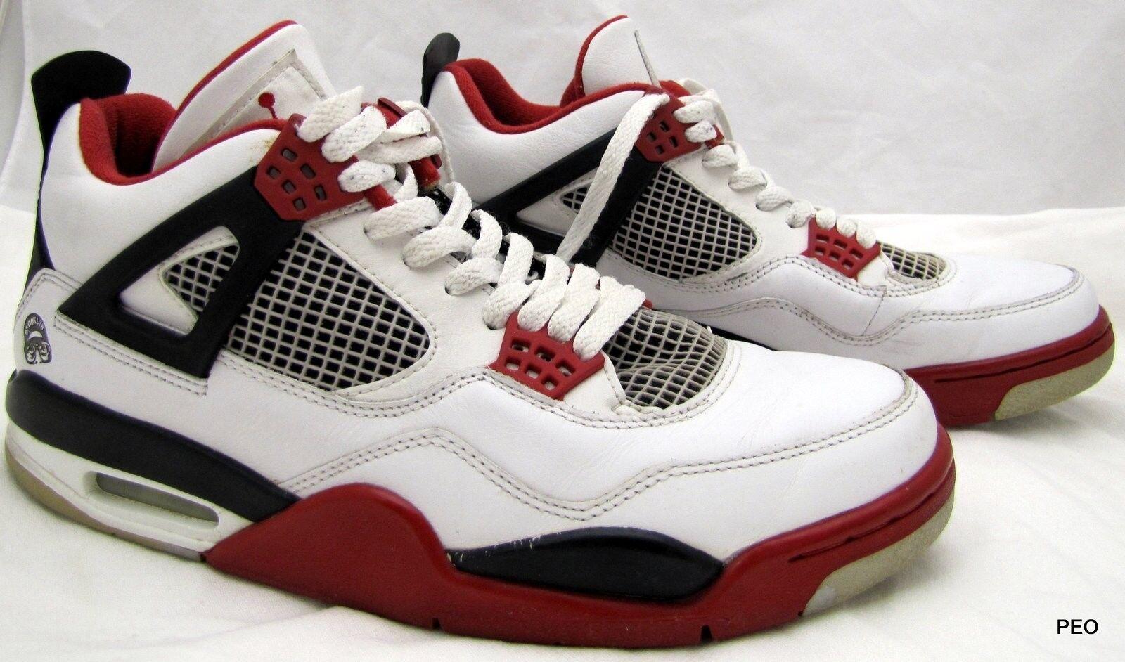 separation shoes ca882 917b8 Nike Air Jordan Brooklyn Brooklyn Brooklyn hombres SZ 10,5 blanco rojo  negro zapatos casuales zapatos de baloncesto 308497-141 salvaje 6fea53