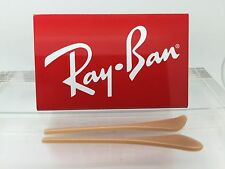 Authentic RayBan RB 3025 AVIATOR Replacement Temple (Arm) Tips TAN BEIGE Ray-Ban