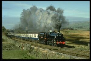 182092-Class-5-No-5407-Crosses-The-Other-Clapham-Common-N-Yorks-A4-Photo-Print