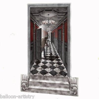 Halloween Haunted Mansion Scene Setter Add-on Kit GOTHIC HALLWAY