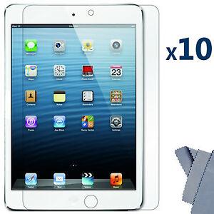 10-X-Ultra-Clear-Screen-Protector-Guard-Cover-for-Apple-iPad-Mini-16GB-32GB-64GB