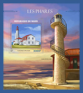 Niger-2016-MNH-Lighthouses-1v-S-S-Pointe-au-Pere-Lighthouse-Architecture-Stamps