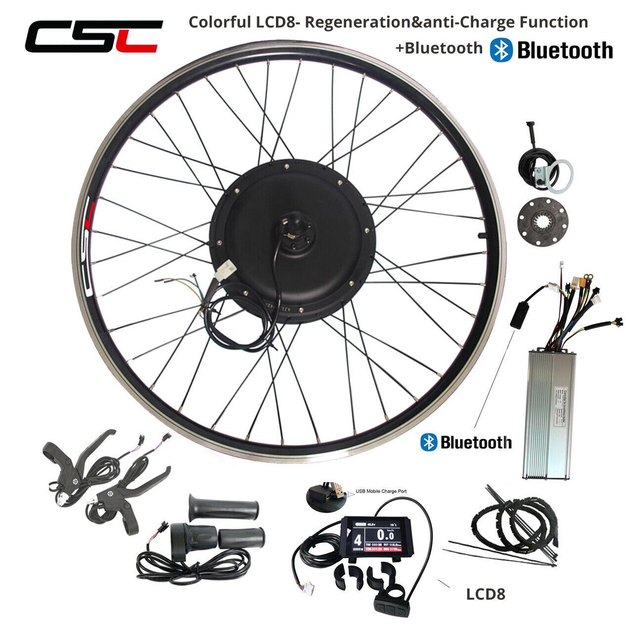 48V 500W 1500W Kit de motor de bicicleta eléctrica 27.5 28 29 Pulgadas Kit sin cepillo del Motor