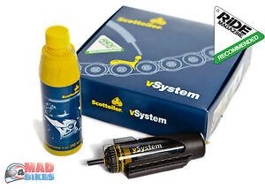 Nuovo-Scottoiler-V-System-Catena-Oliatore-Automatico-Moto-Lubrificazione-Kit