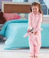 Girls Toddler Pink Pajamas Sock Monkey Combo Set Sleepwear 2t/3t