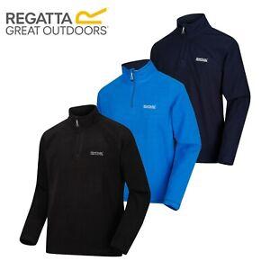Regatta-Thompson-Men-039-s-Lightweight-Quick-Dry-Half-Zip-Golf-Fleece-Jacket-RRP-20