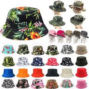 Mens Women Festival Bucket Hats Fishing Sun Hat Summer Beach Travel Boonie Cap
