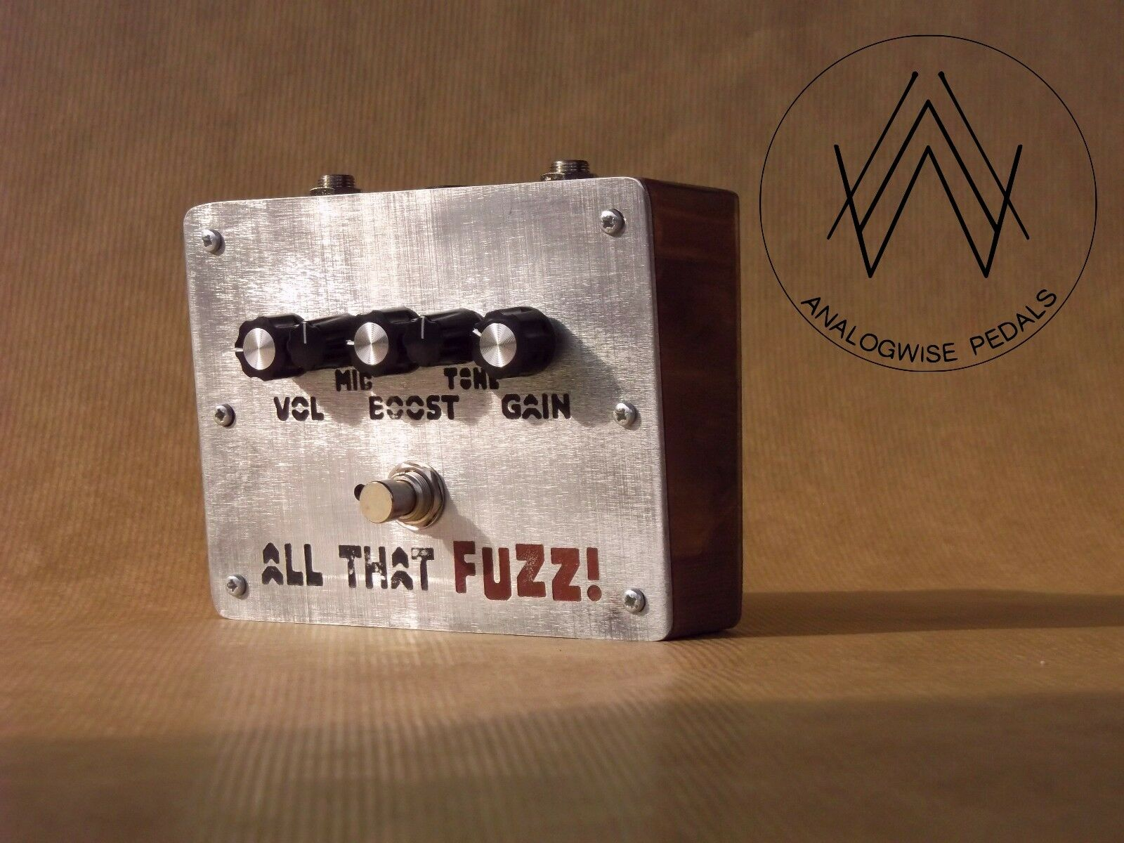 All That Fuzz  by Analogwise Pedals. The nastiest germanium fuzz pedal out there