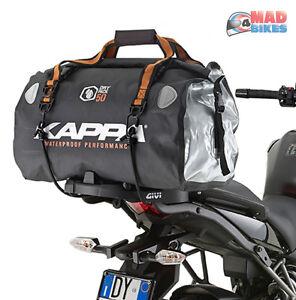 Wa404r Moto Impermeabile 50l Borsa Sella Da Posteriore Set Kappa rxWQdoeCB