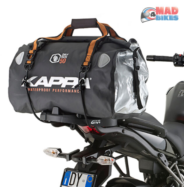 Kappa WA404R Motorcycle Motorbike Tail Pack  Seat Bag 50L Waterproof Dry  Pack 2de6bfa177e6d