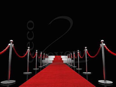 Läufer, roter Teppich, VIP Teppich, Empfangsteppich, Hochzeitsteppich ab 2,95/m²
