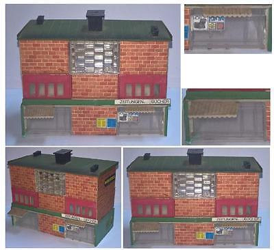 Toys & Hobbies Parts & Accessories Gebäude 1 Ebene Stil Anni '80 In Backsteine Mit Geschäfte Lightable Leiter-n