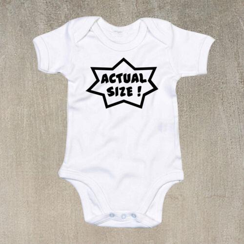 Baby Grow Combinaison Drôle Fantaisie Cadeau gilet