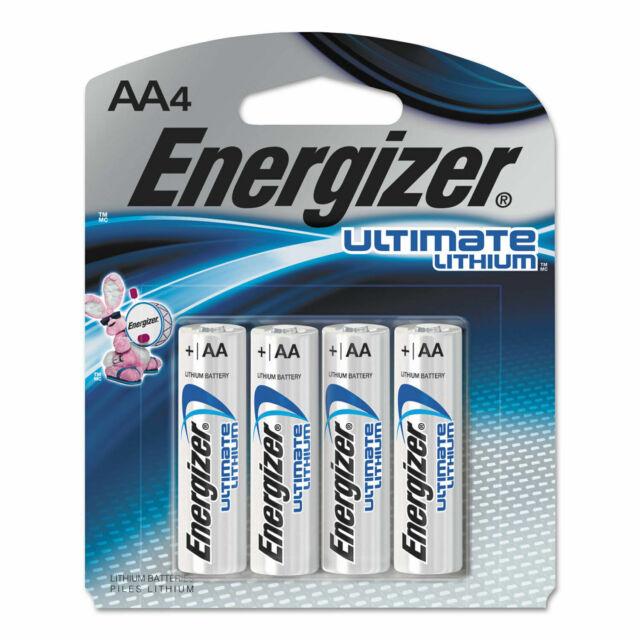 Batería De Litio Energizer L91 Ultimate AA 2pks de 4