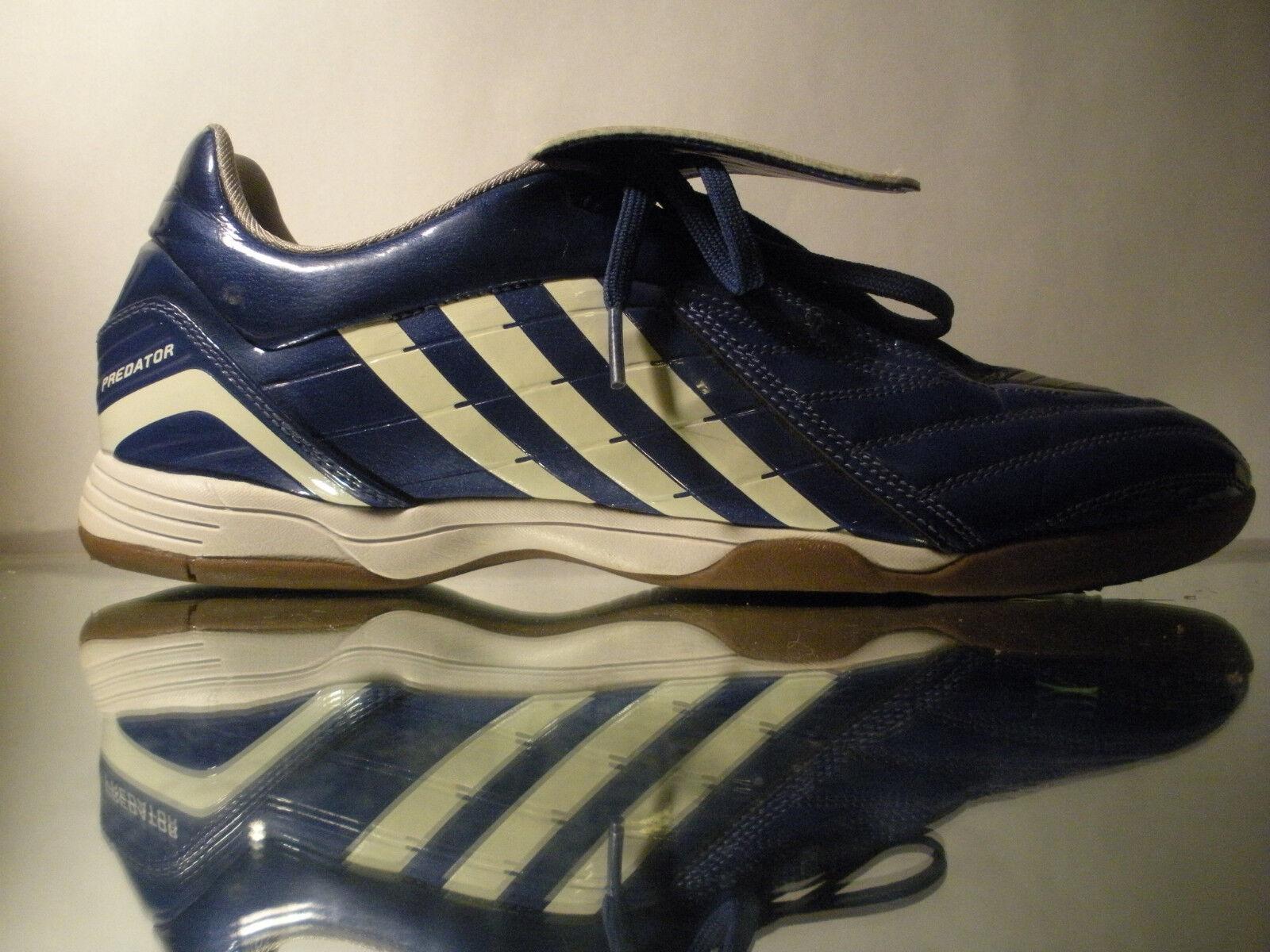 39c6921dd6a ... Adidas Predator Powerswerve Absolado Indoor Soccer Soccer Soccer Flat  shoes blueee White Sz 11.5 c9806f ...