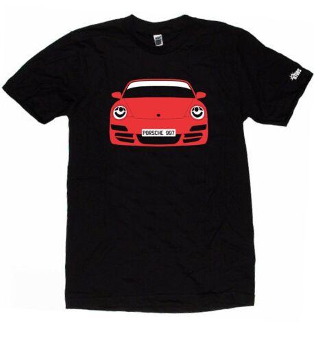 "911 S-XXXL /""997/"" Pick car colour /& plate CUSTOM HTees T-shirt"