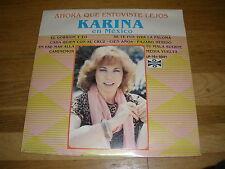 KARINA en MEXICO ahora que estuviste lejos LP Record - Sealed