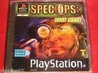 SPEC OPS COVERT ASSAULT PLAYSTATION 1 SPECOPS COVERT ASSAULT PS1 PS2 PS3