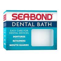 Sea-bond Denture Bath (colors May Vary)
