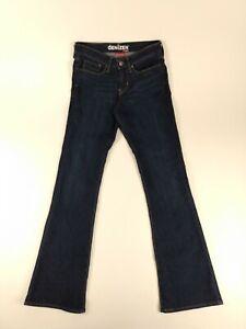 Women-039-s-Denizen-From-Levi-039-s-Blue-Jeans-Modern-Boot-Cut-Size-4-Long-Tall-28X33