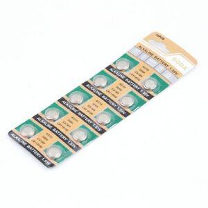 10-x-AG10-1-5-V-alcaline-LR1130-189-LR54-coin-Battery-Piles-NX2