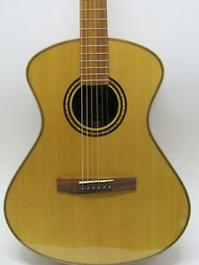 Andrew White EOS 1020W Natural Acoustic Guitar w/OHSC MINT