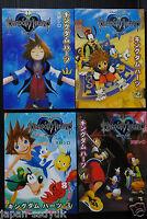 JAPAN Kingdom Hearts Manga: 1~4 Complete Set Shiro Amano