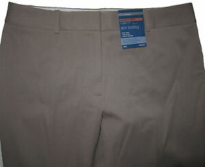 New-Womens-Marks-amp-Spencer-Brown-Slim-Bootleg-Trousers-Size-22-18-16-12-10-8