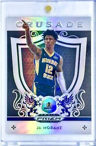 2019-20-Panini-Ja-Morant-Silver-Prizm-Rookie-Card-RC-Memphis-Grizzlies