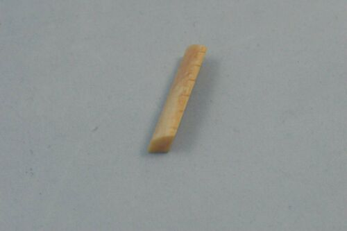 """Martin style 1-3//4/"""" width Vintage unbleached bone guitar nut slotted angled"""