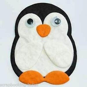 3 x pinguin mit wackelaugen weihnachten 5 cm scrapbooking 3 d basteln ebay. Black Bedroom Furniture Sets. Home Design Ideas
