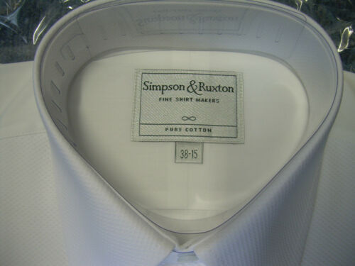 Simpson /& Ruxton Marcella MESS DRESS SHIRT,PURE COTTON,PERFECT FOR MESS FUNCTION