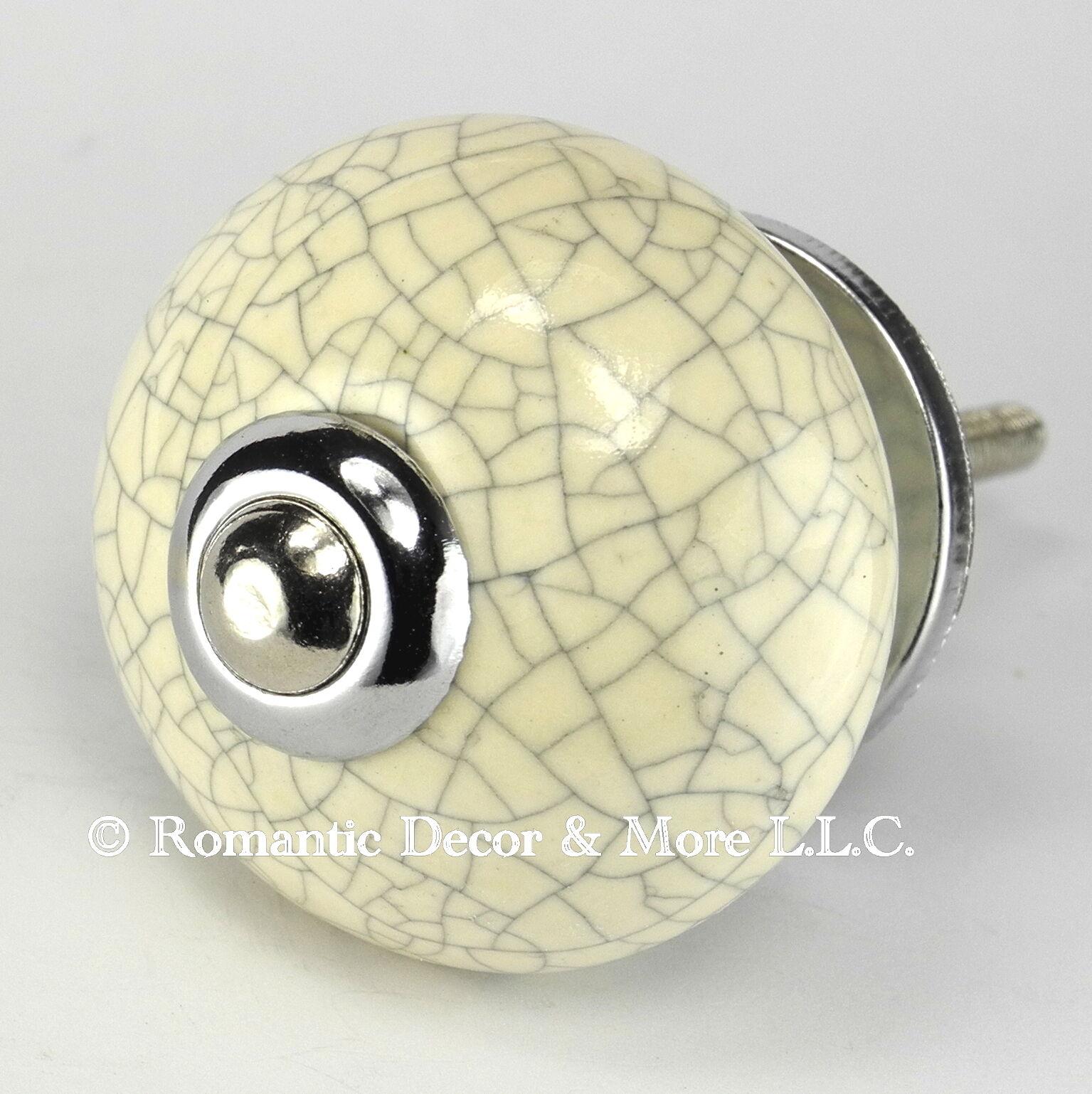 Decorative Drawer Pulls, Handle for Kitchen Cabinets or Ceramic Door Knob  C20RR
