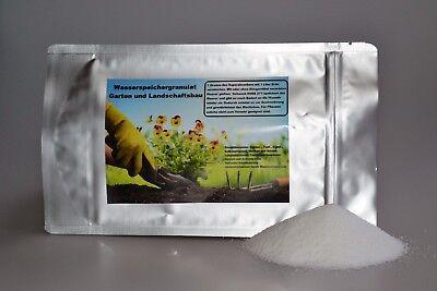 Wasserspeicher Gel Bodenverbesserer Granulat Pflanzengel Dünger Superabsorber