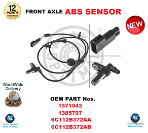 For 1371543 1385 797 6c112b372aa 6c112b372ab  ABS Sensor Front OE Quality  online sales