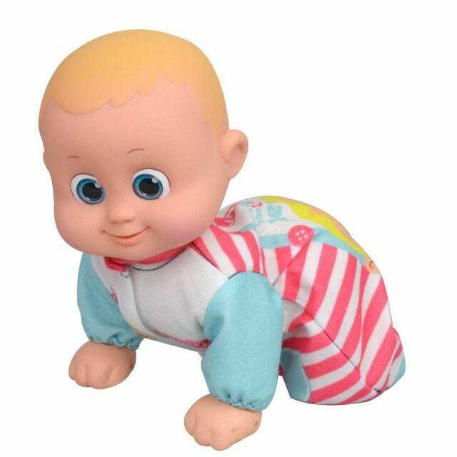 Bouncing Babies Doll crawling when you talk about Toy Children Interactive te