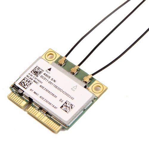 Broadcom BCM94360HMB AW-CB160H 1300M WIFI PCI-E Card BT4.0 3 x IPEX 4 Antennas