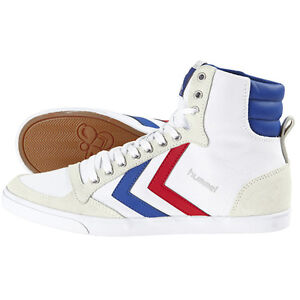 Hummel-slimmer-stadil-High-Chaussures-high-top-sneaker-white-blue-red-63-511-9228