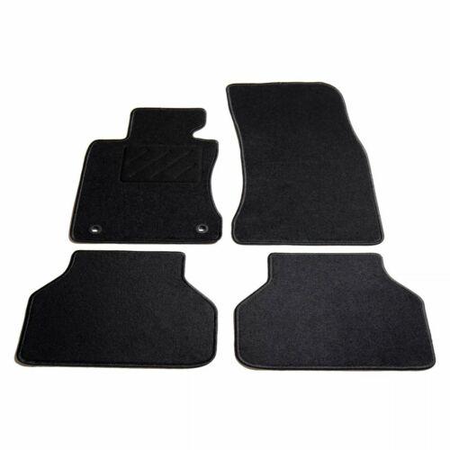 vidaXL 4x Auto Fußmatten für BMW E60//E61 5er-Reihe Automatten Autoteppich