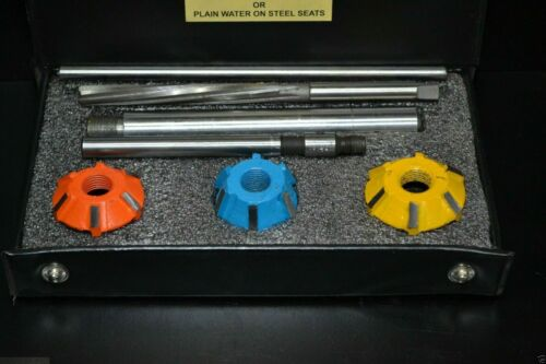 VALVE SEAT CUTTER SET CARBIDE TIPPED SHELBY SMALL BLOCK ENGINES