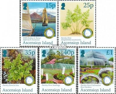 Charitable Ascension 1126-1130 Mint Never Hinged Mnh 2011 Petersilienfarn To Reduce Body Weight And Prolong Life Nature & Plants