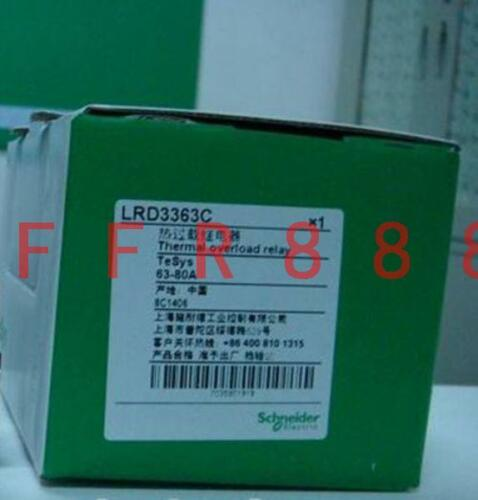 NEW Schneider Thermal Overload Relay LRD3363C 63-80A