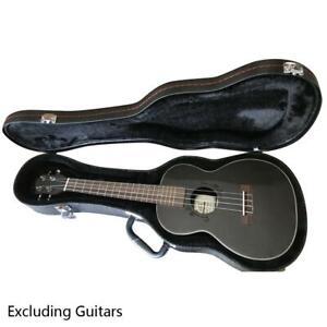 26 Glarry Tenor Concert Ukulele Case Leather Hard Case Pattern Python Black Us Ebay
