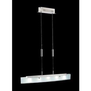 Das Bild Wird Geladen LED  Pendellampe 13445 Fischer SHINE Hoehenverstellbar Dimmbar Esszimmer