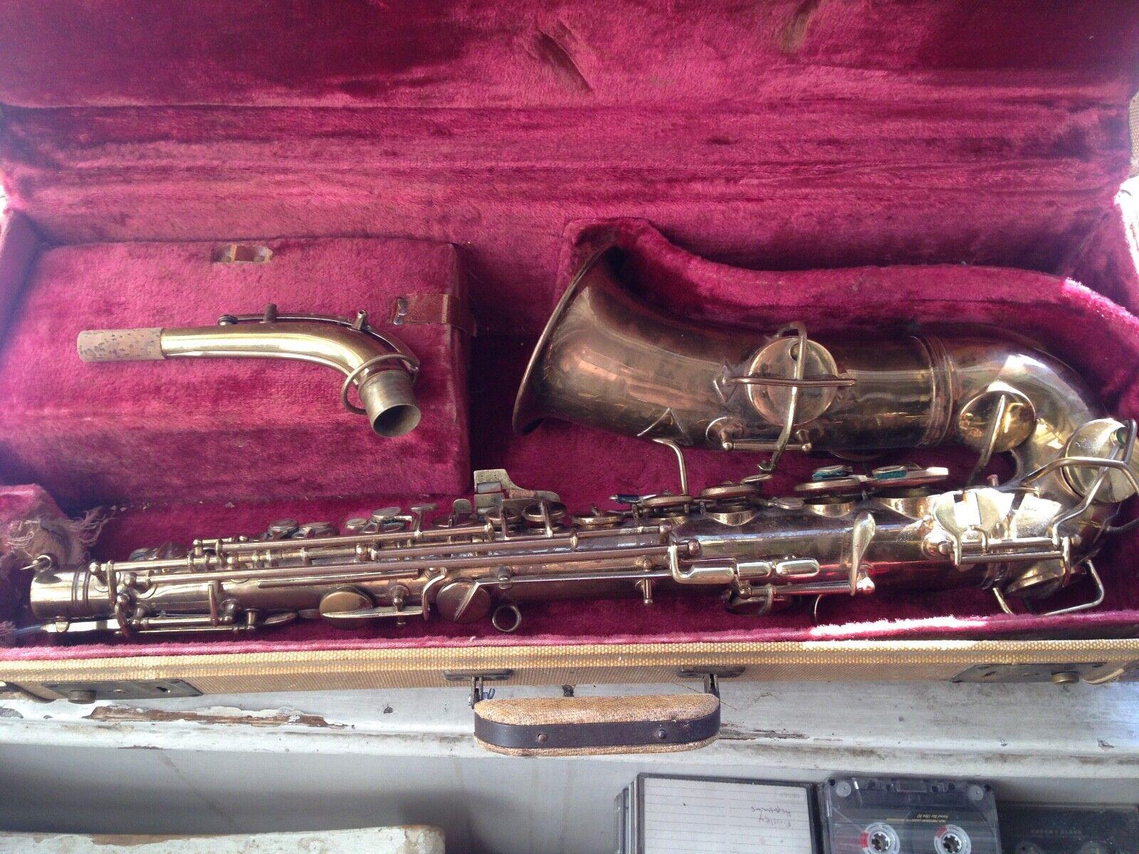 Conn New Wonder Alto Saxophone, Vintage Altsaxophon USA
