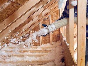 Attic fiber glass blown in insulation services in dallas for Fiberglass blowing wool insulation