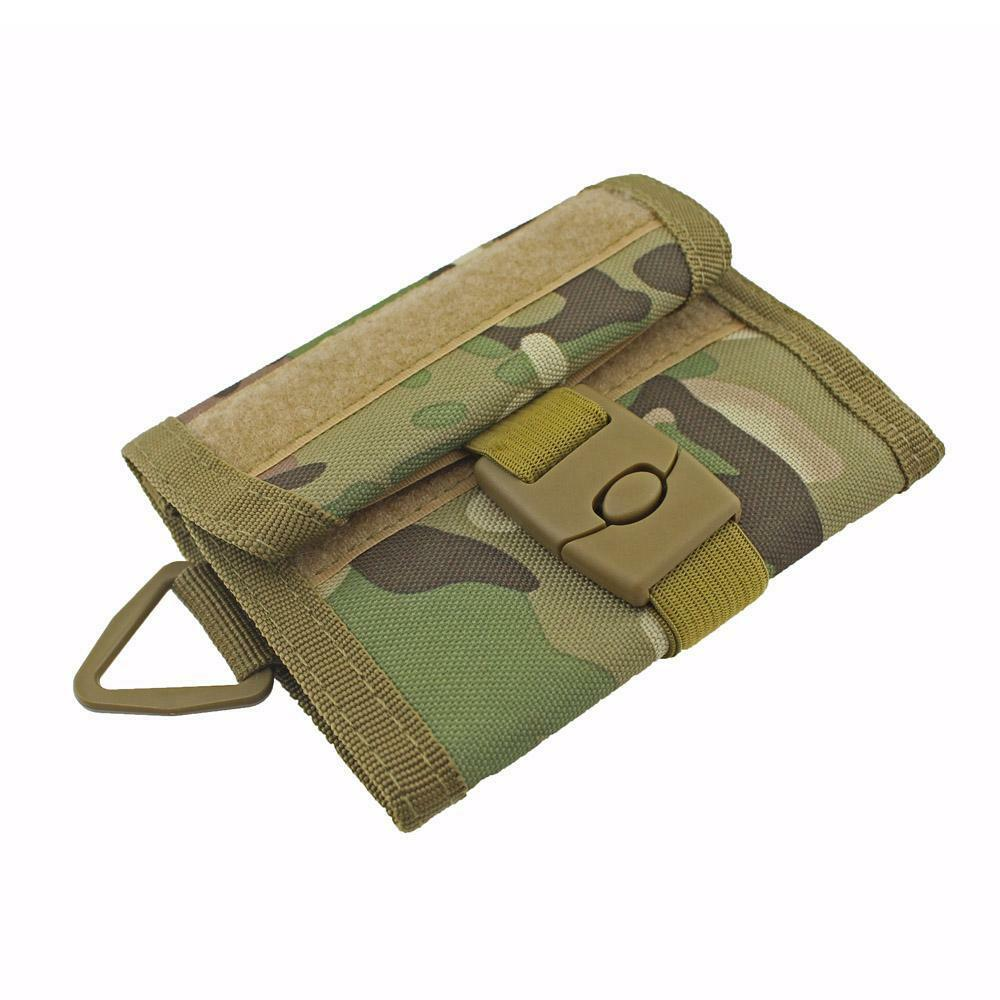 Military Wallet Outdoor Sports Wallet Purse Mesh Pocket EDC Pouch