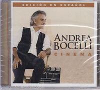 Sealed - Andrea Bocelli Cd Cinema Edicion En Espanol 12 Tracks Brand