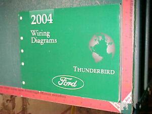 2004 FORD THUNDERBIRD WIRING DIAGRAMS MANUAL ALL MODELS ...